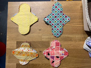 La Petite Wong - Reusable Cloth pads - Sanitary napkins
