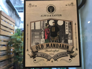 Alwis & Xavier Solid Cologne - Old Mandarin