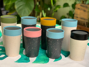 rCUP 8oz - The first portable travel mugs made from recycled paper coffee cups