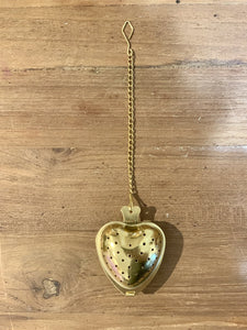 Tea Infuser with chain (Silver/Gold)