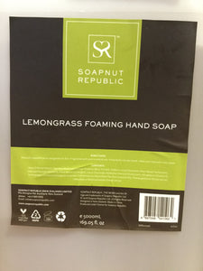 Soapnut Republic (Bulk) Lemongrass Foaming Hand Soap