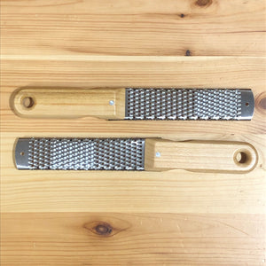 Cheese grater - wooden handle