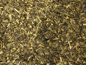 "Organic Green Tea - ""Fannings"" leaves from India"