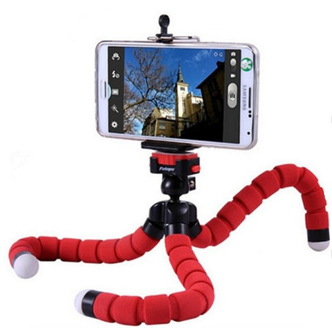 Flexible Octopus Digital Camera Tripod Holder, - cell phone accessories