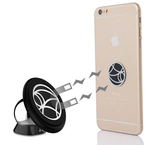 Mobile Phone Car Holder Sticky Stand 360 Degrees Rotation, - cell phone accessories