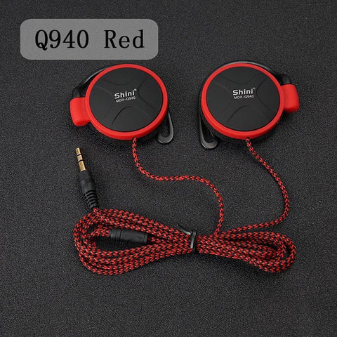 3.5mm EarHook Earphone For Mp3 Player Computer and Mobile, - cell phone accessories