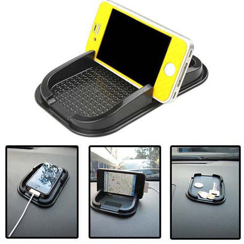 Dashboard Sticky Pad Mat Anti Non Slip Phone Holder, - cell phone accessories