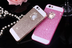 Rhinestone Case for Apple Iphone Glitter, - cell phone accessories
