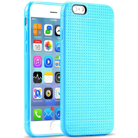 Back Case Fashion Honeycomb Dot Style Soft Silicone Cover, - cell phone accessories