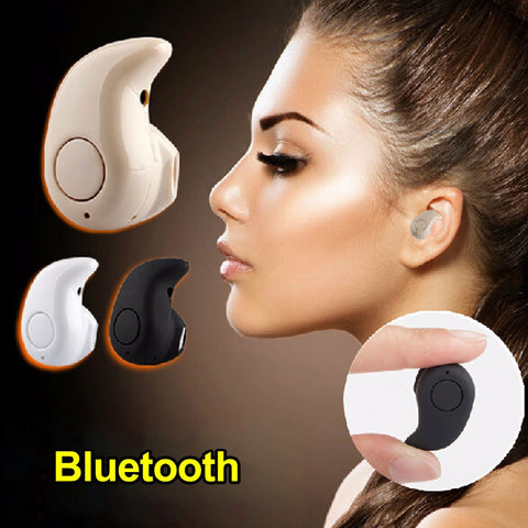 Wireless Headset Handfree Micro Earpiece, - cell phone accessories