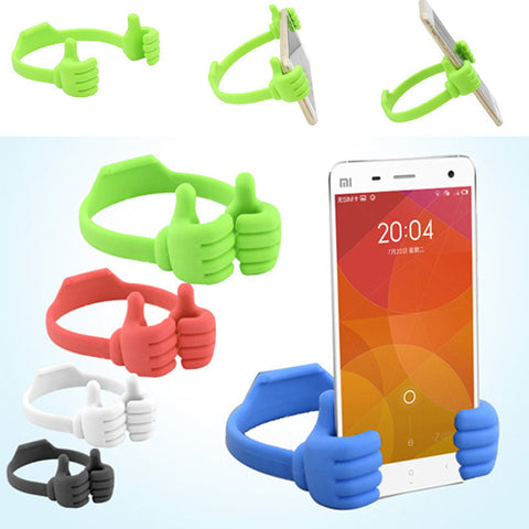 Lazy Mobile Phone Holder Bed Thumb, - cell phone accessories