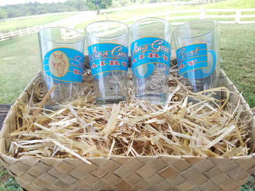 Milk Glasses Gift Set