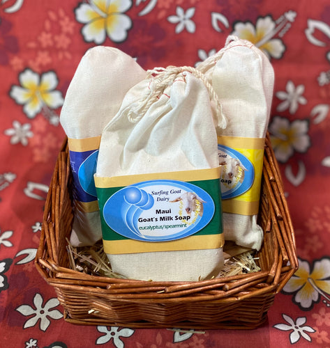 Feeling' Good Soap Basket