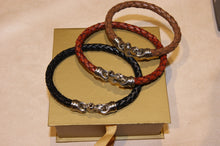 Braided Leather Mariner's Bracelet