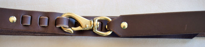 Bronze Snap Belt