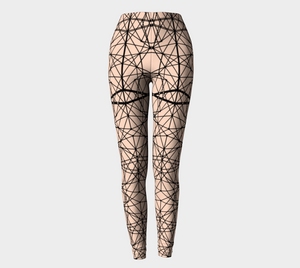 Nude Web Leggings Leggings - Altered 3go