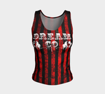 Dream CO Striped Fitted Tank (regular) Fitted Tank Top (Regular) - Altered 3go