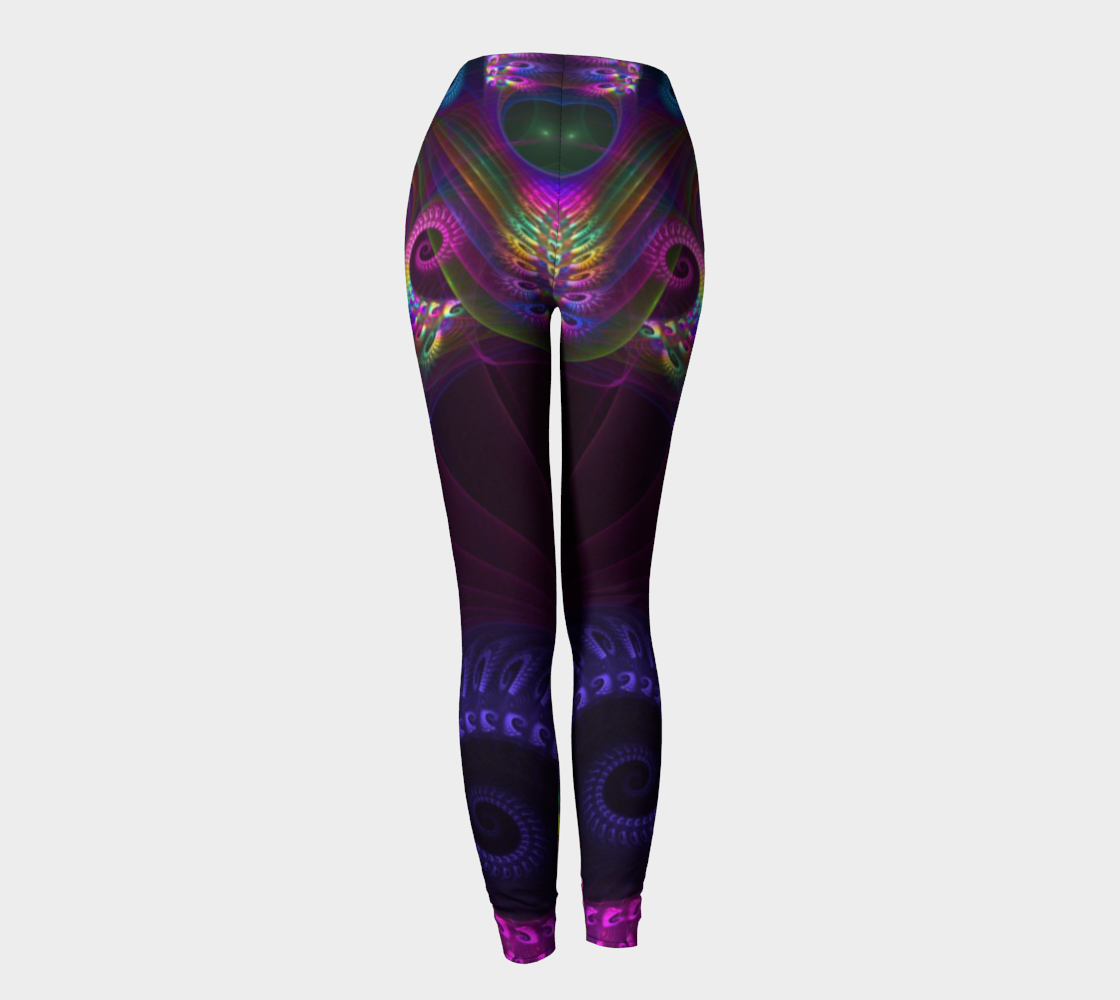 Neon Glow Leggings - Altered 3go