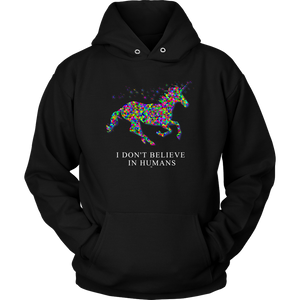 I don't believe in humans T-shirt - Altered 3go