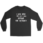 Before the Internet T-shirt - Altered 3go