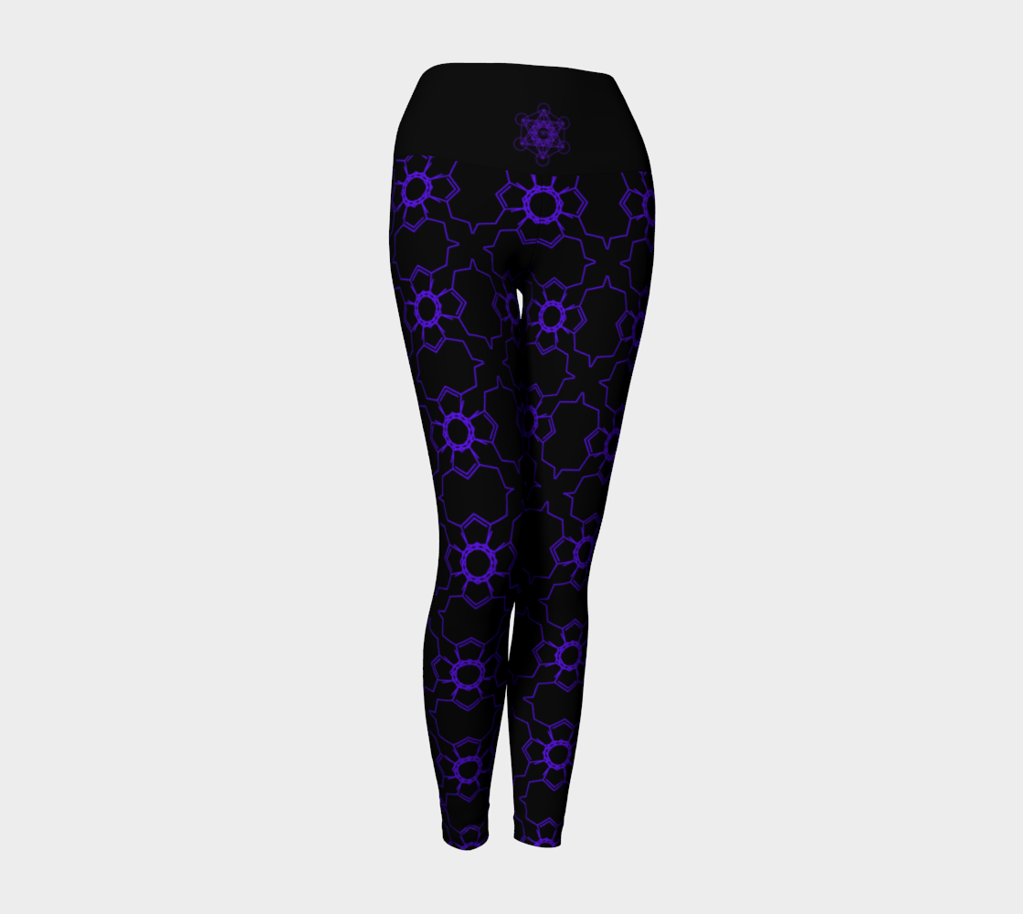 Rapture Repeat Leggings Yoga Leggings - Altered 3go