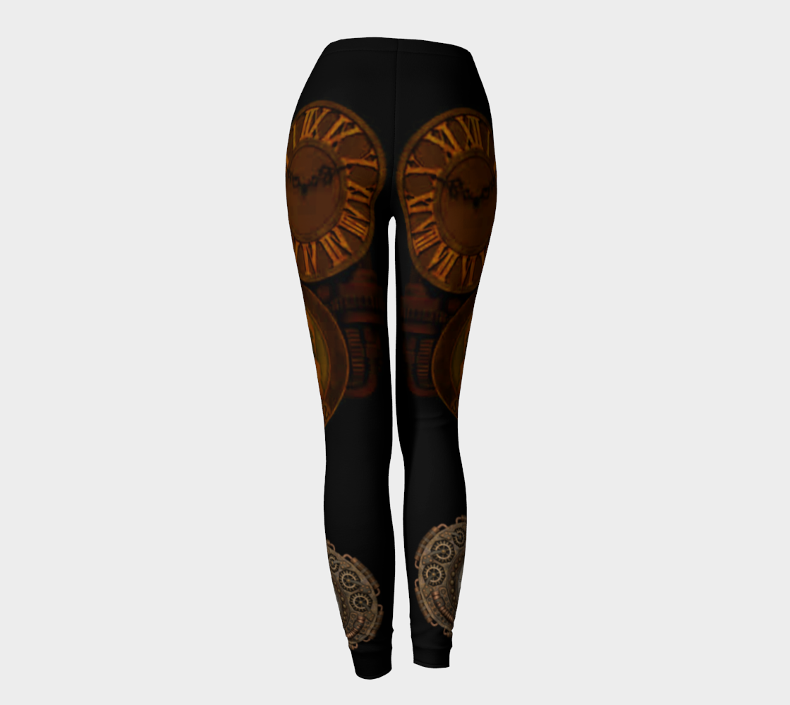 Antique Clocks Leggings