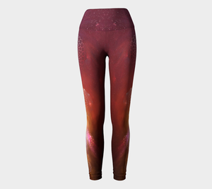 Sacred Galaxy Yoga Leggings Yoga Leggings - Altered 3go