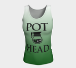 Pot Head Fitted Tank Fitted Tank Top (Long) - Altered 3go
