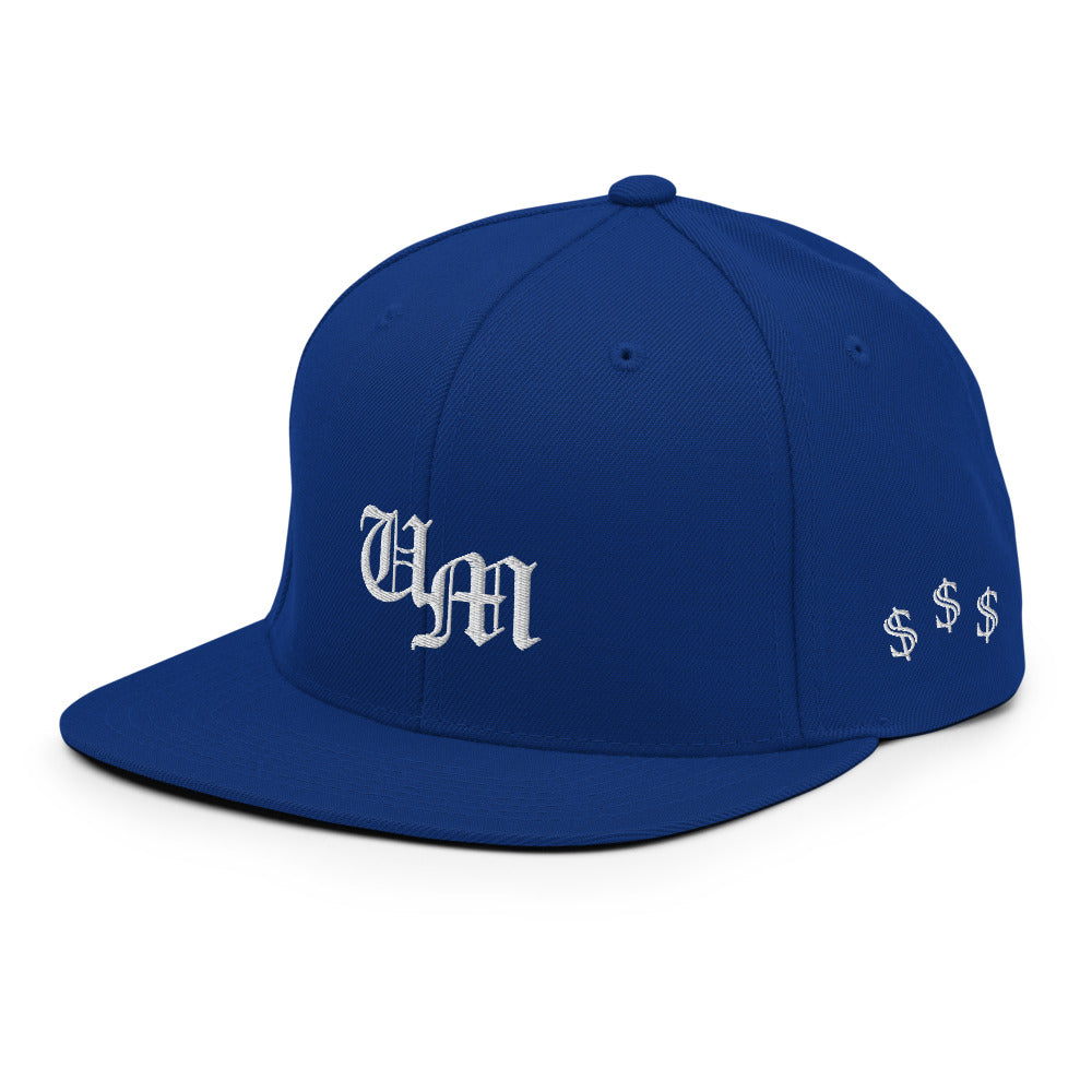 Blue Snapback Hat Secured Ed