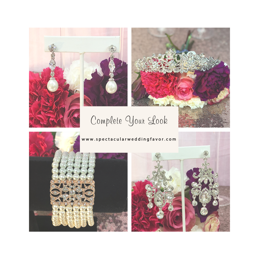 Completel your bridal look. Bridal Jewelery
