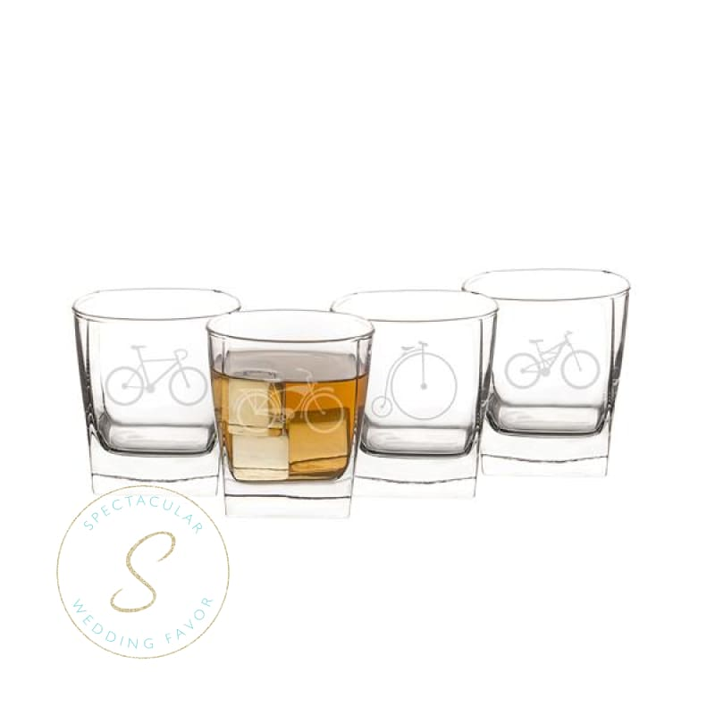 10.5 Oz. Bicycle Rocks Glasses