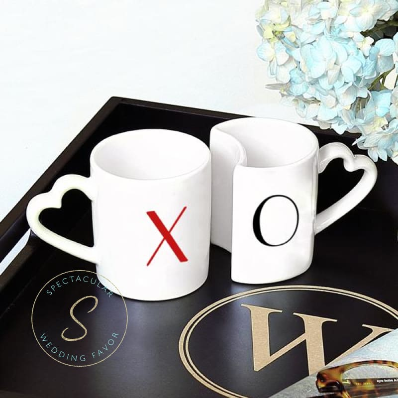 10 Oz. Xoxo Coffee Mug Set