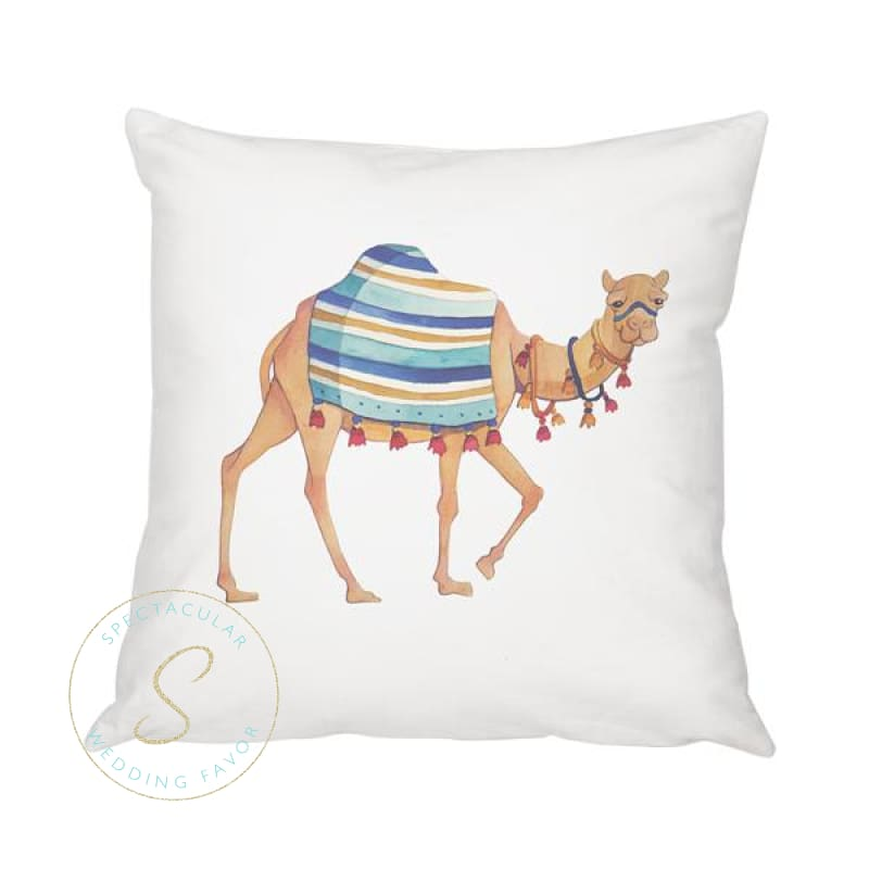 16 Camel Throw Pillow