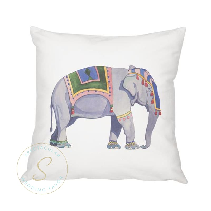 16 Elephant Throw Pillow