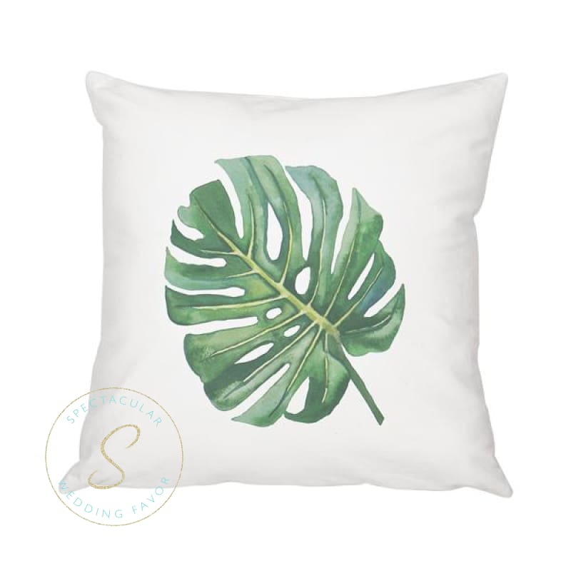 16 Palm Leaf Throw Pillow