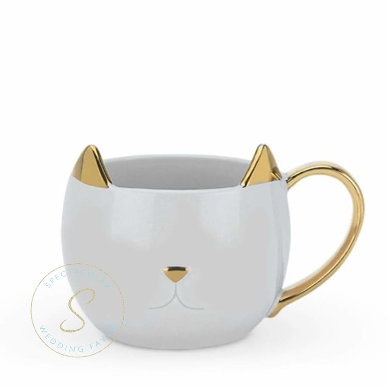 Chloe Grey Cat Mug