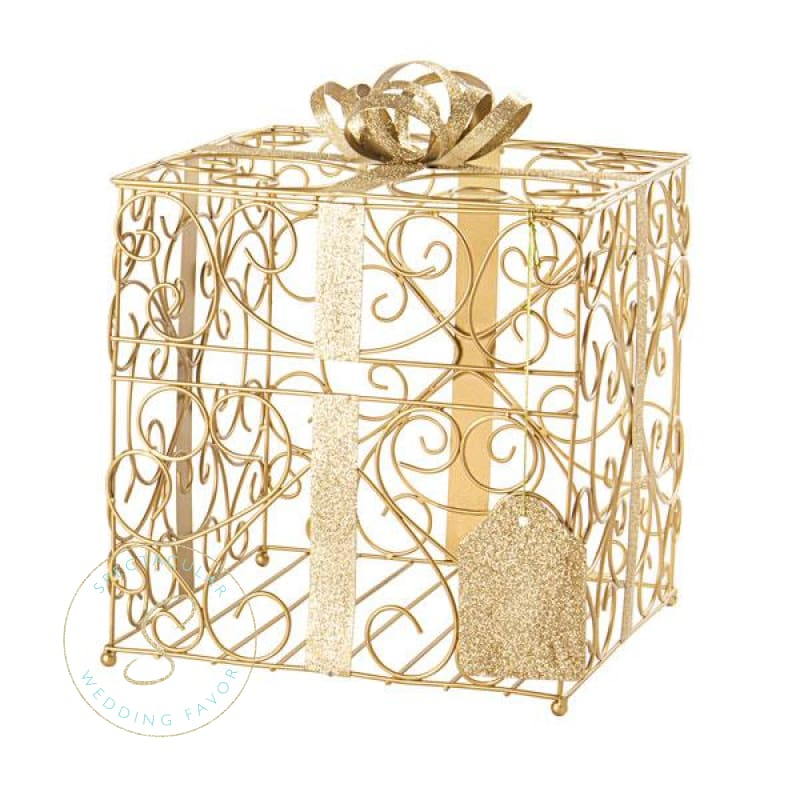 Gold Reception Gift Card Holder