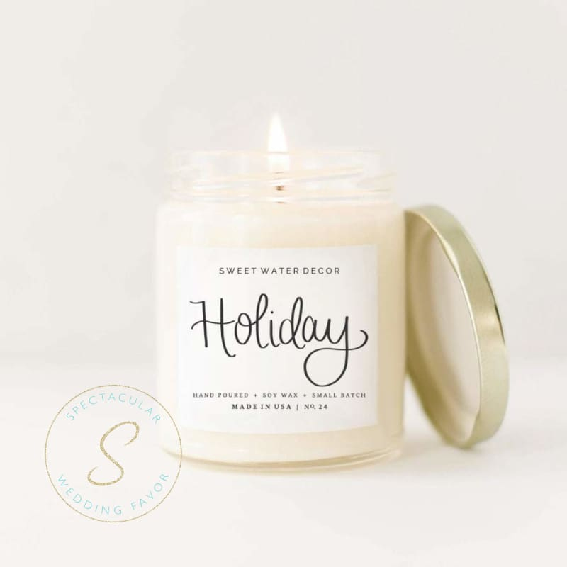 Holiday Soy Candle 9Oz
