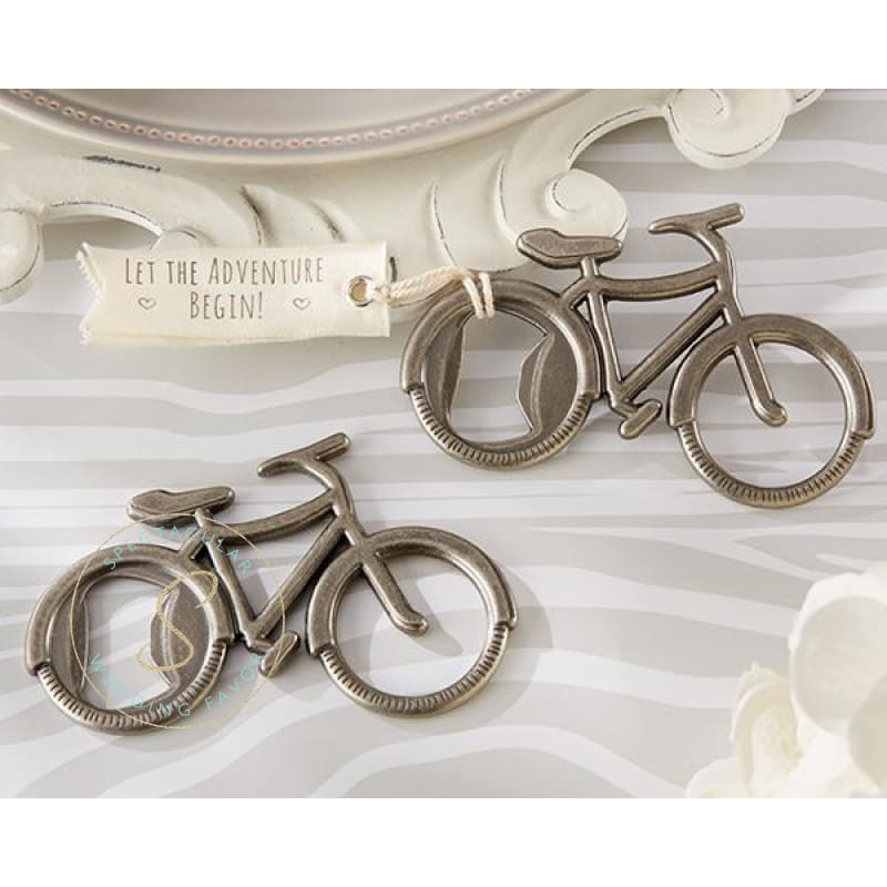 Lets Go On An Adventure Bicycle Bottle Opener