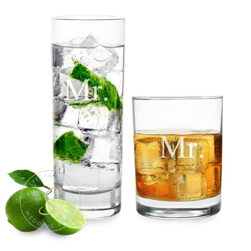 Mr. & Mr. Cocktail Set