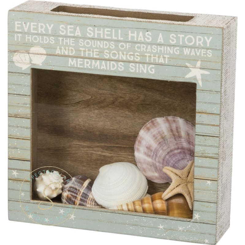 Shell Holder - A Sea Shell Is Never Empty