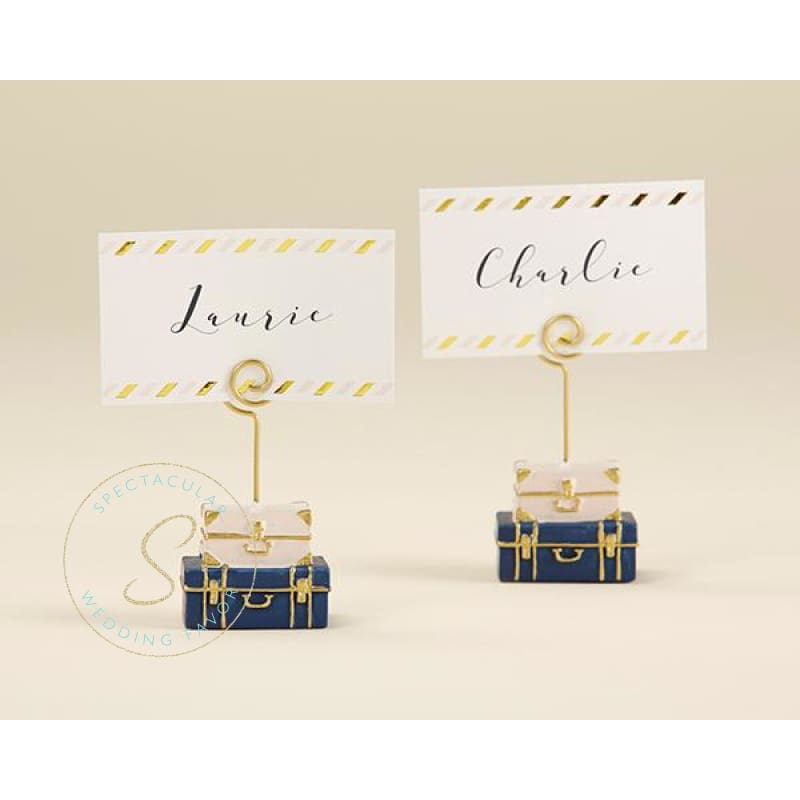 Suitcase Place Card Holder (Set Of 6)