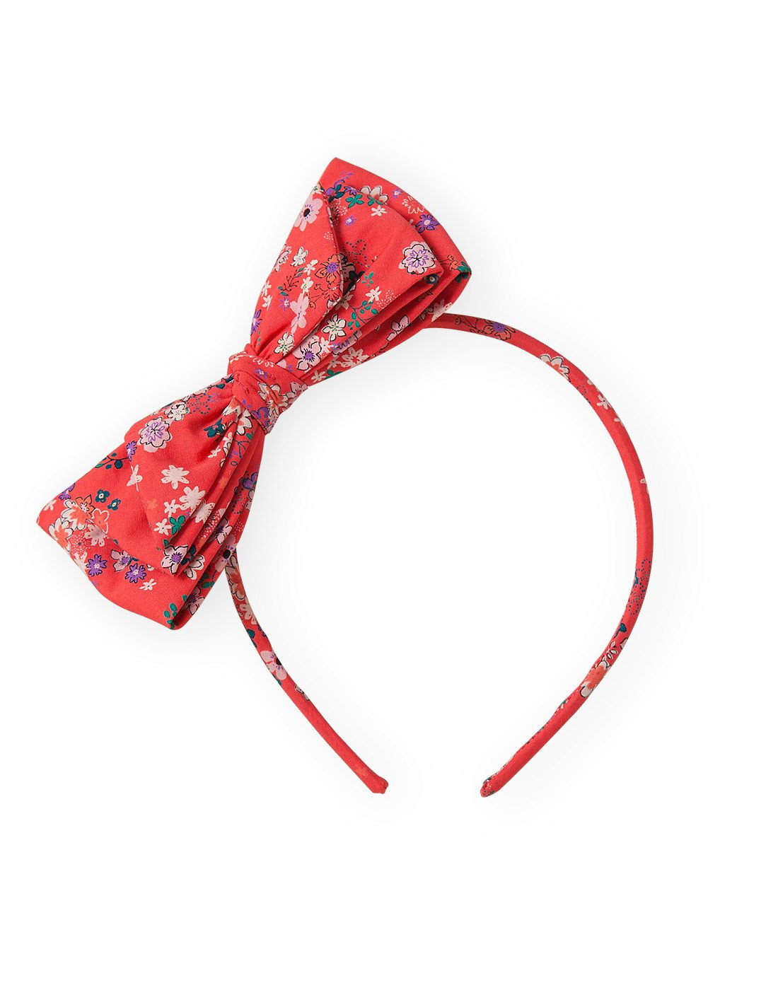 Red Flower Hairband