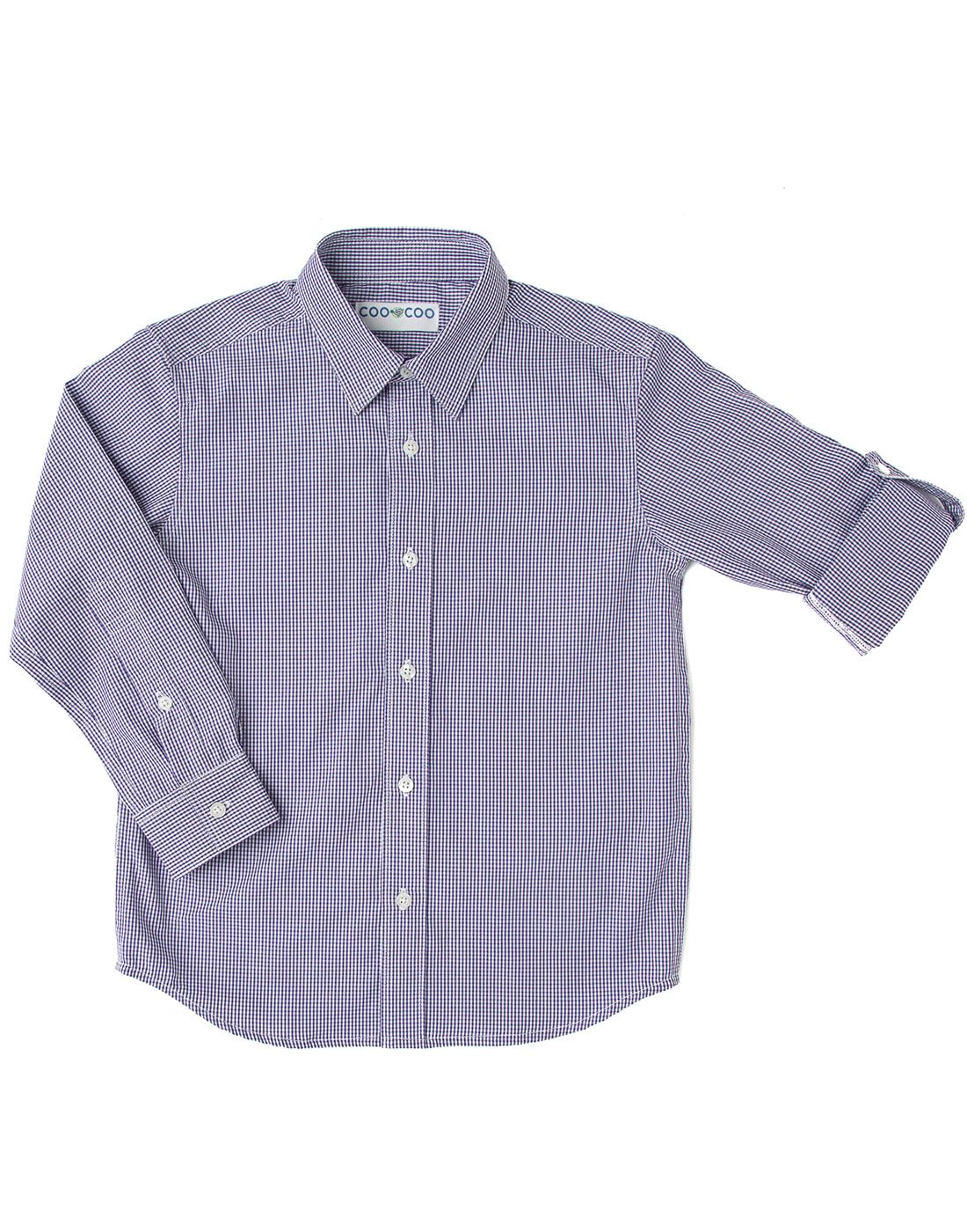 Purple Checks Shirt