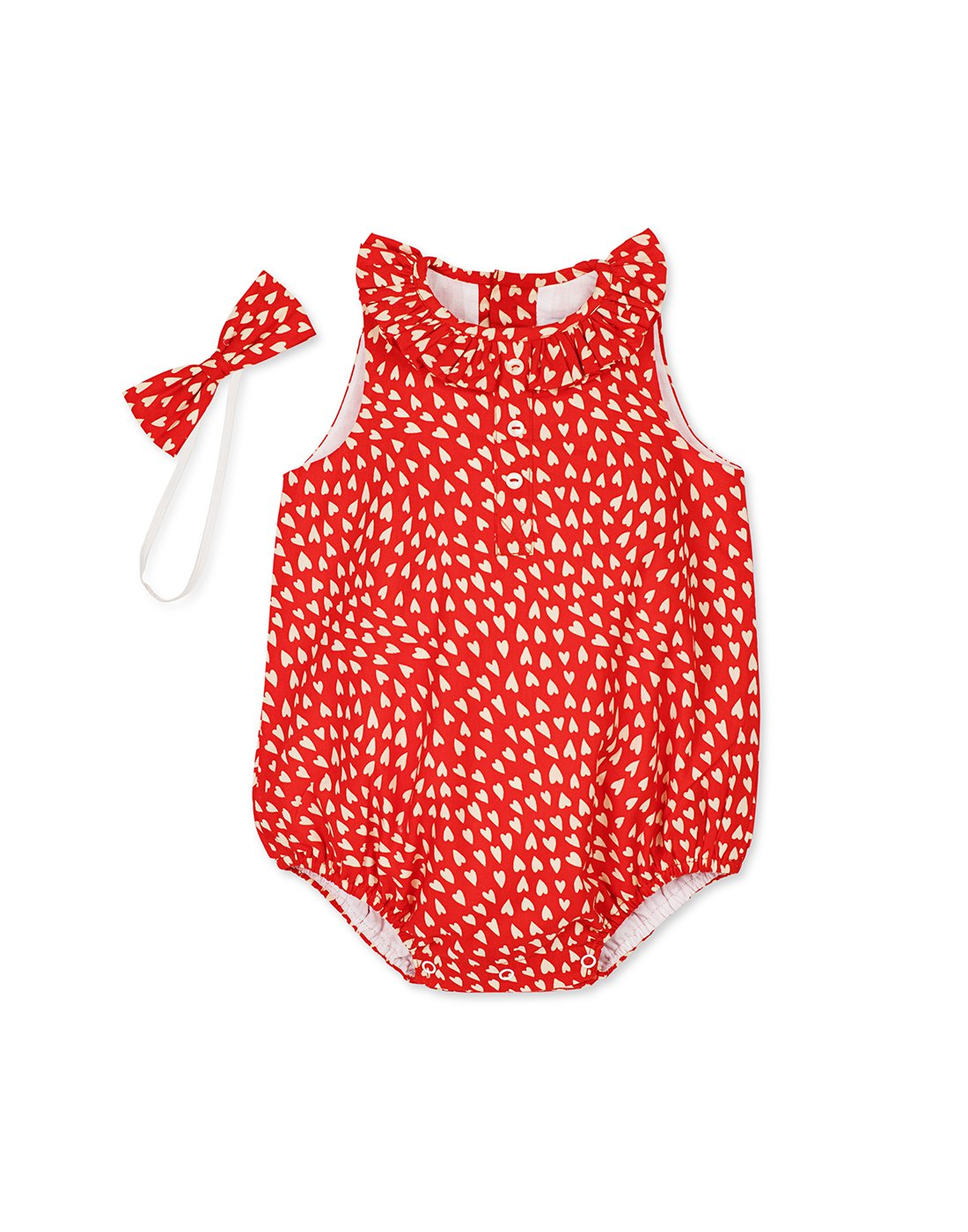 Red Heart Romper