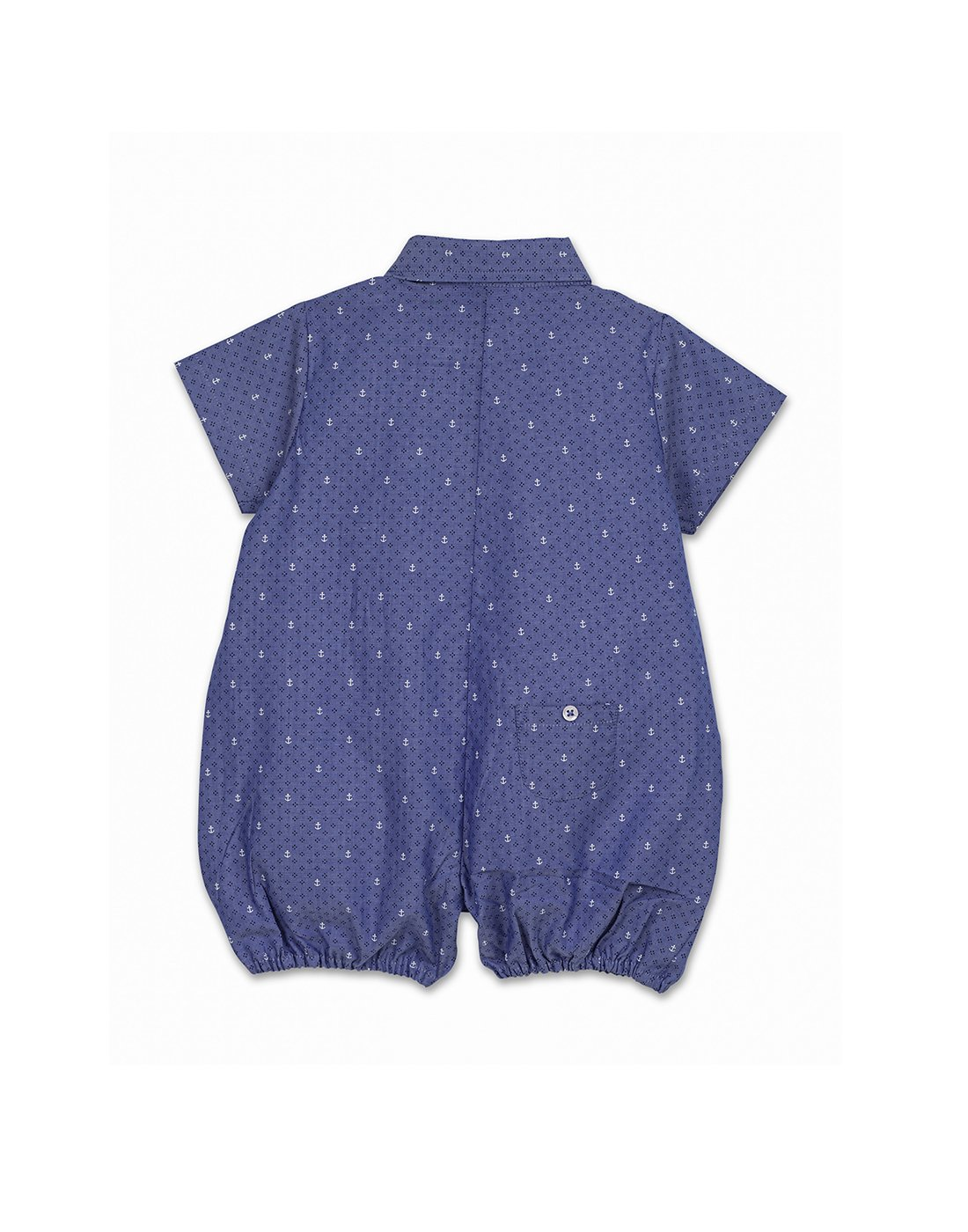 Blue Anchor Romper