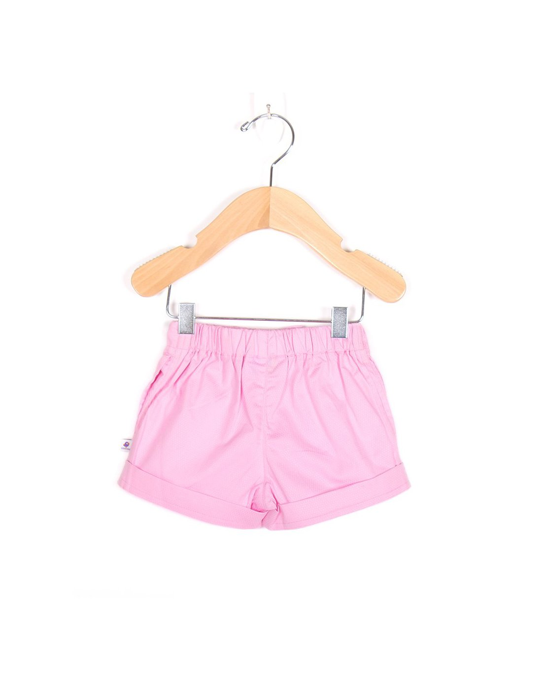 Baby Pink Woven Shorts