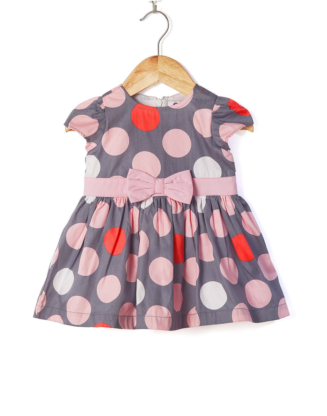 Polka Sateen Dress