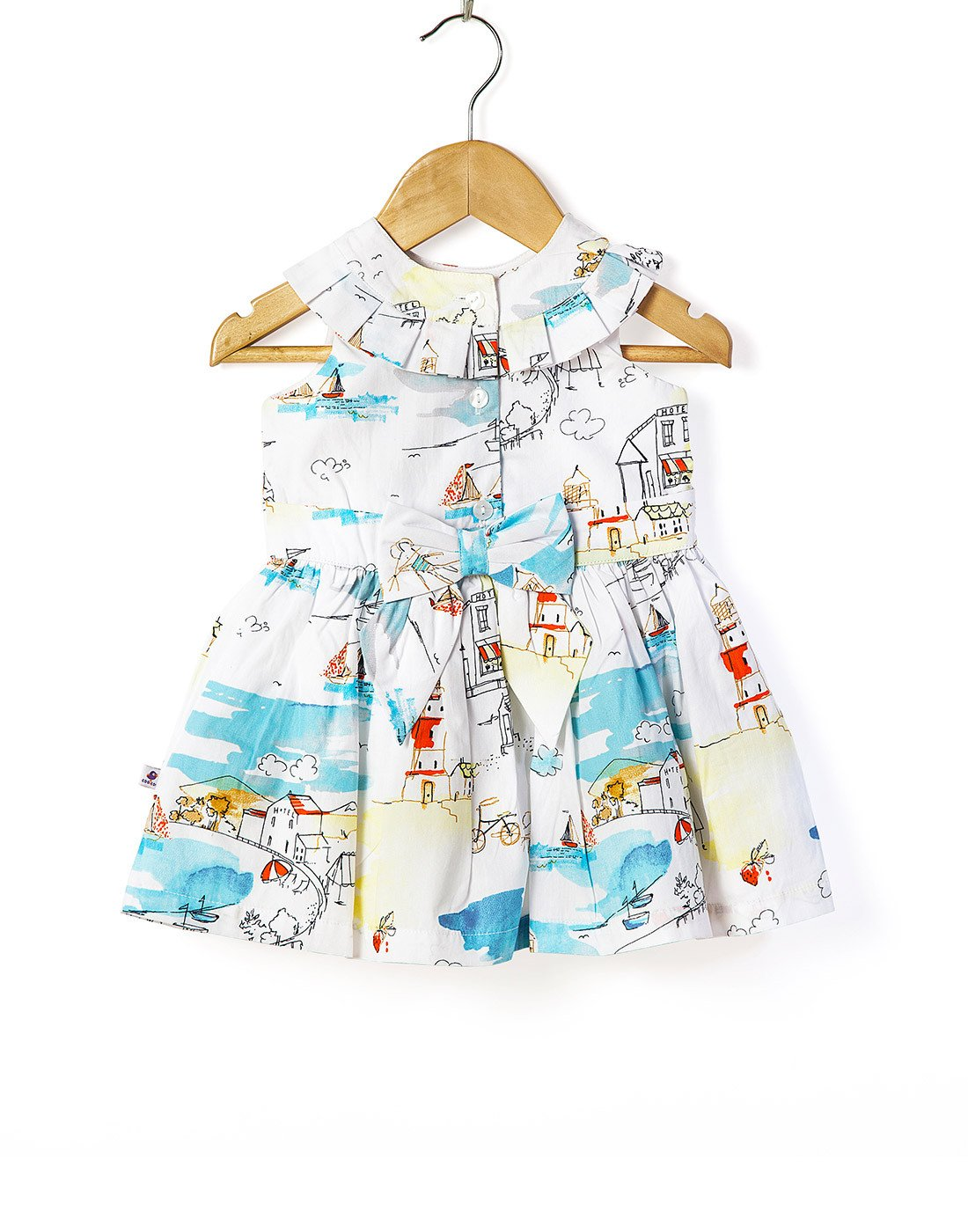 Poplin Lighthouse Dress