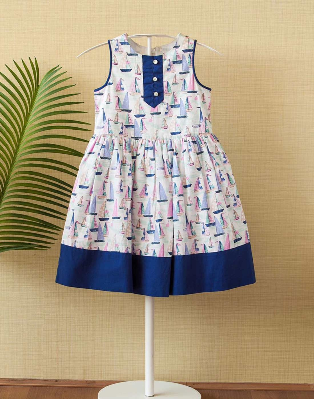 The Boat Print Dress